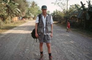 Henk Hanssen in de Fillippijnen 1995