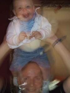 Henk Hanssen met dochter Rosa