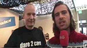 Henk Hanssen van IkVader.nl op de Negenmaandenbeurs in de Amsterdam RAI.